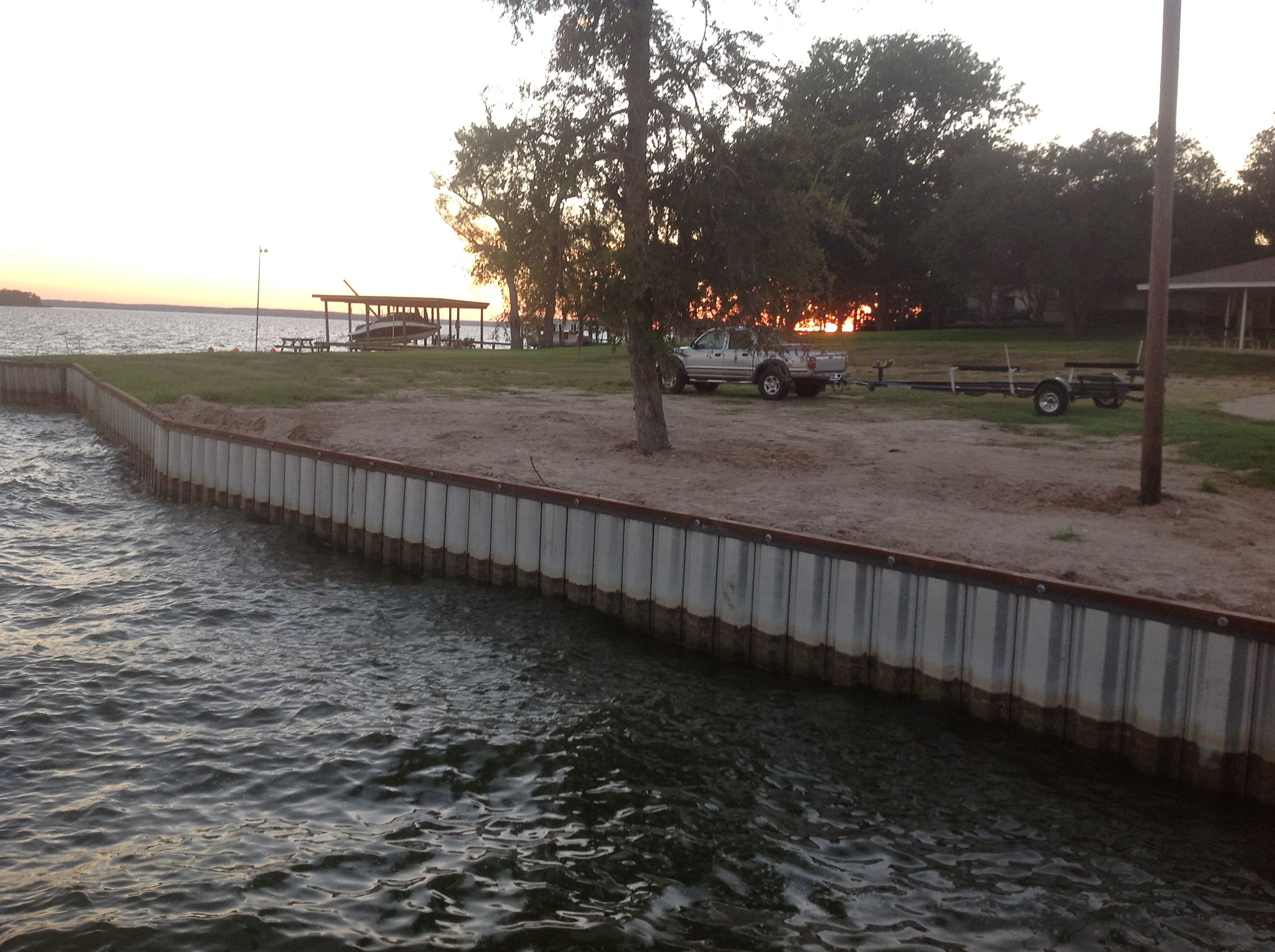 Lake Livingston Bulkheads And Boathouses Lake Livingston Contractors Web Links Boat Houses Docks Piers Dr House Boat Lakefront Living Construction Contract