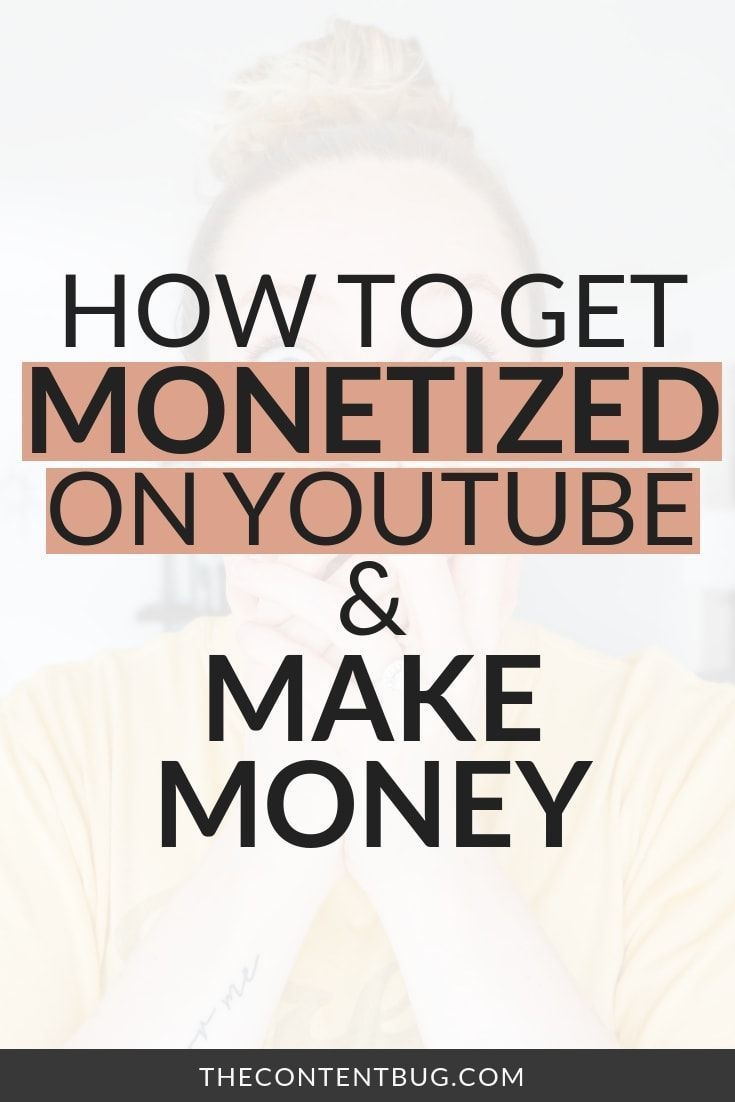 Want to make money on YouTube and become a successful YouTuber?! Well, your girl is finally monetized on YouTube and I'm so excited to share the whole process of how to get monetized on YouTube, how long it takes to make money on YouTube, how Google Adsense works, how ads work on your videos, and how you can get monetized faster on YouTube. | YouTube tips | YouTube for beginners #youtube via @thecontentbug