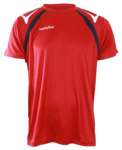 Twentyfour - Camiseta roja de deporte #camiseta #friki #moda #regalo