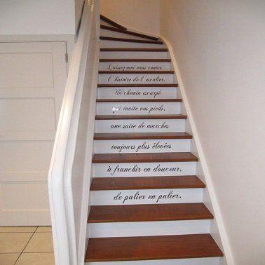 Decoration Escalier En Bois , Decoration Escalier En Bois Idee ...