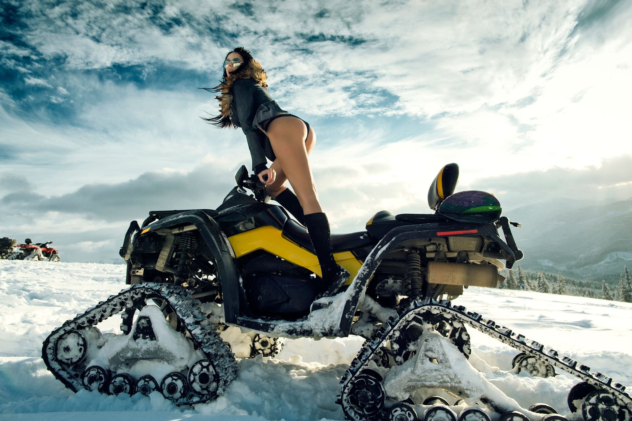 Yamaha Blackfriday Snowmobile