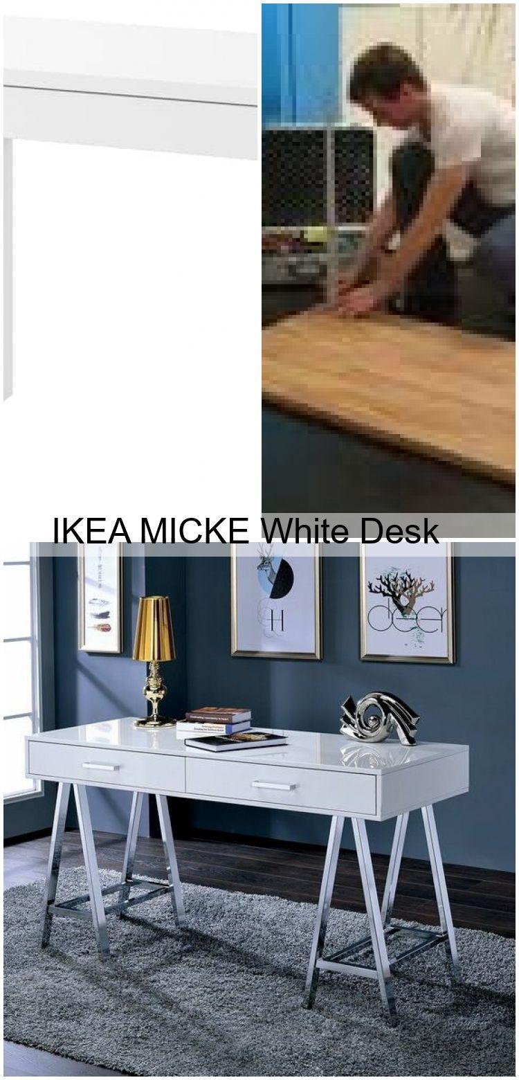 Ikea Micke White Desk Micke Schreibtisch Weiss