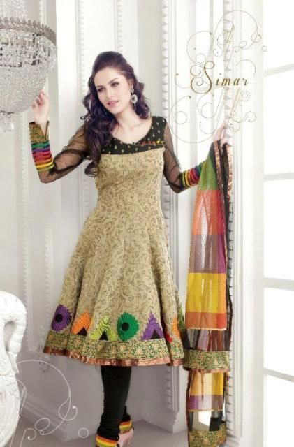 Style in pakistani dresses