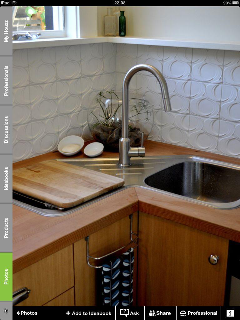 Fregadero esquina | Diseño cocinas | Pinterest | Kitchens, Small ...