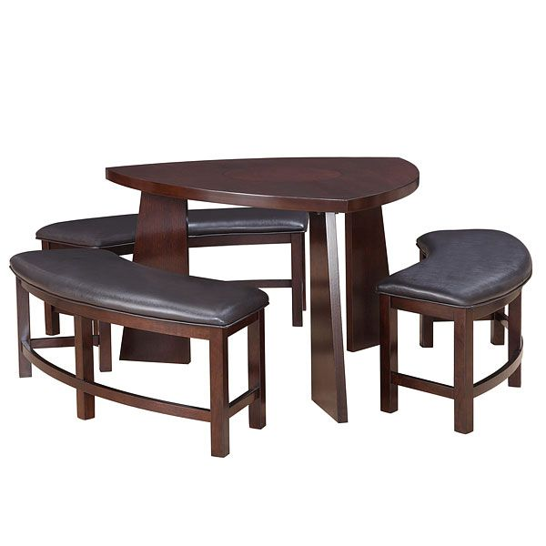 20 Softly Shaped Curves Of Triangular Dining Tables Photo Gallery