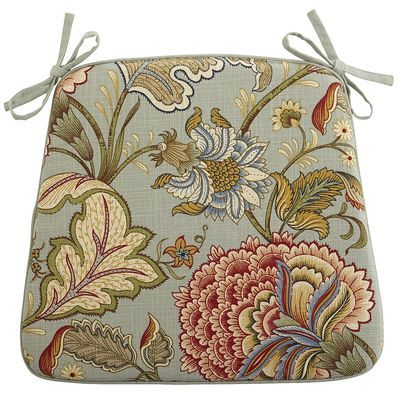 Dining Cushion Blue Meadow At Pier One For Kitchen Chairs Dining Room Chair Covers Blue Dining Room Chairs Chair Pads