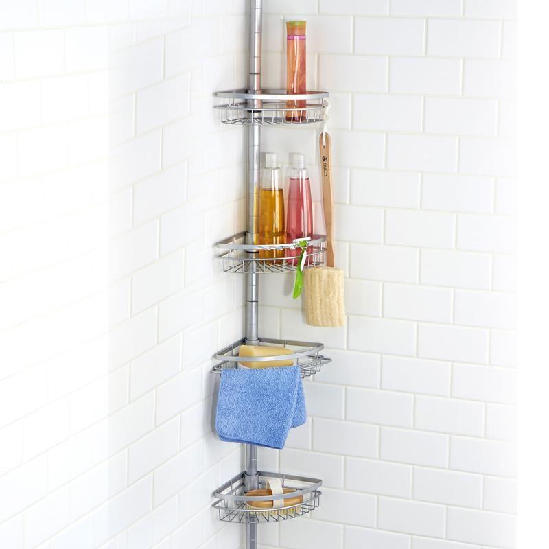 Ksp Viva Tension Bathtub Corner Shelf 4-Tier / 104\