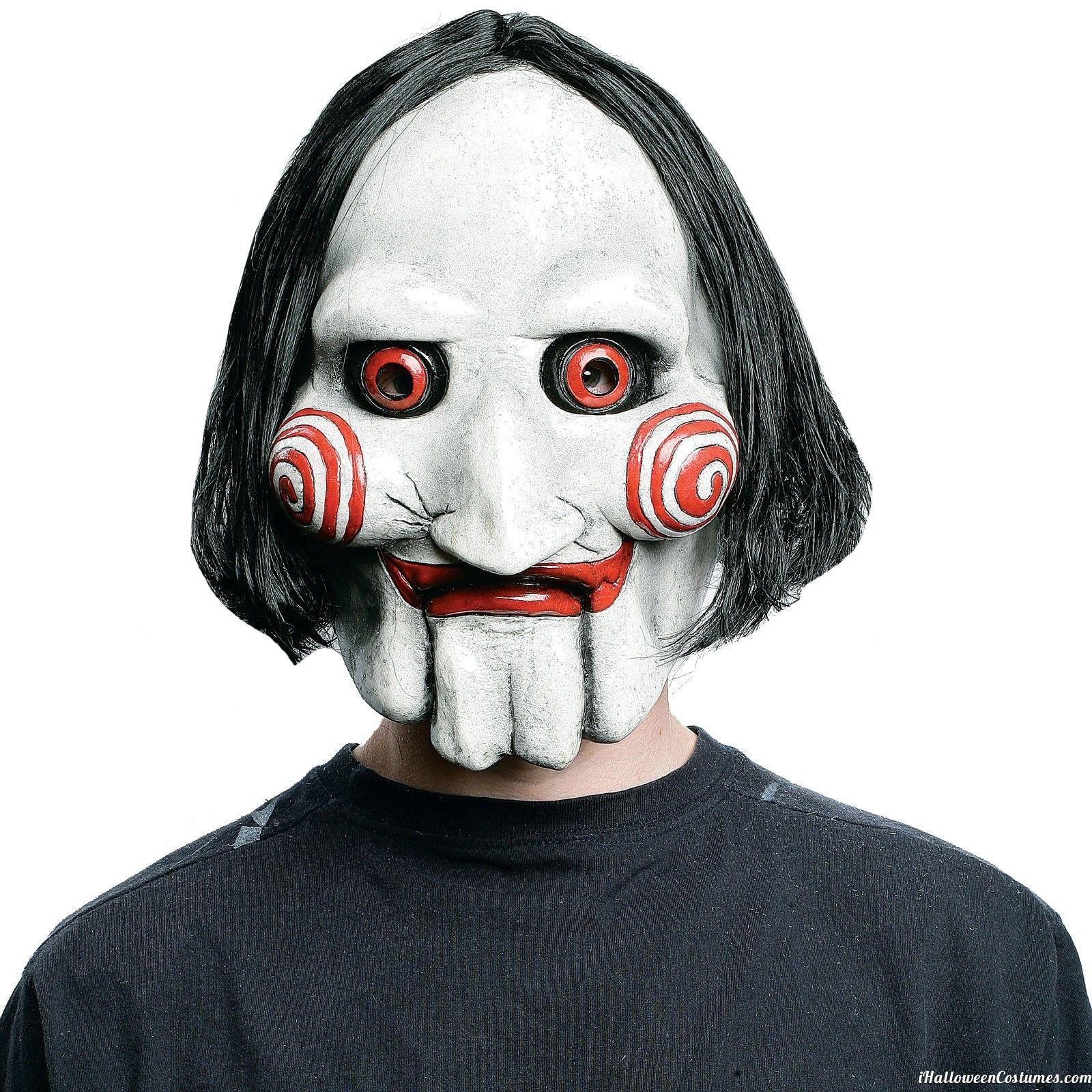 Saw Jigsaw Mask Halloween Costumes 2013 Jigsaw mask