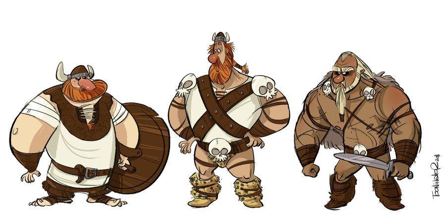 Vikings by the-Tooninator on deviantART