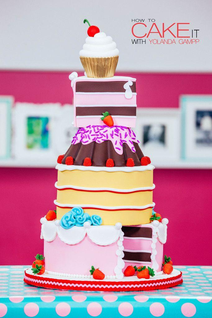 Yolanda Gampp Vanilla Cake