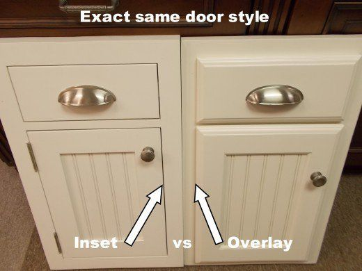 inset kitchen cabinets beaded inset vs plain inset kitchen rh pinterest com