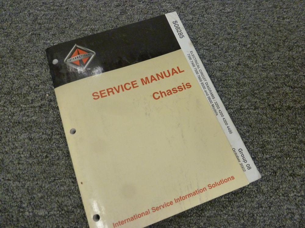 ebay #sponsored 2000-2004 international 7400 electrical wiring diagrams  manual 2001 2002 2003