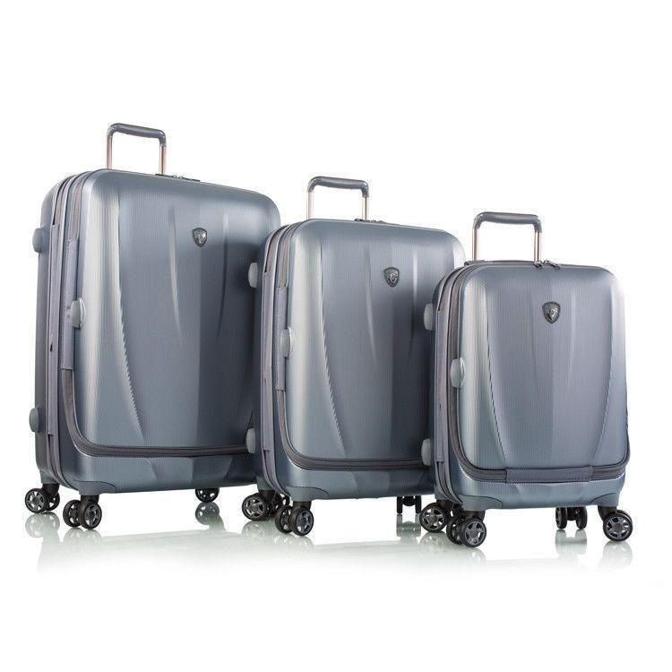 Heys Vantage Luggage 3PC Fashion Hardcase Vantage-Slate Blue ...