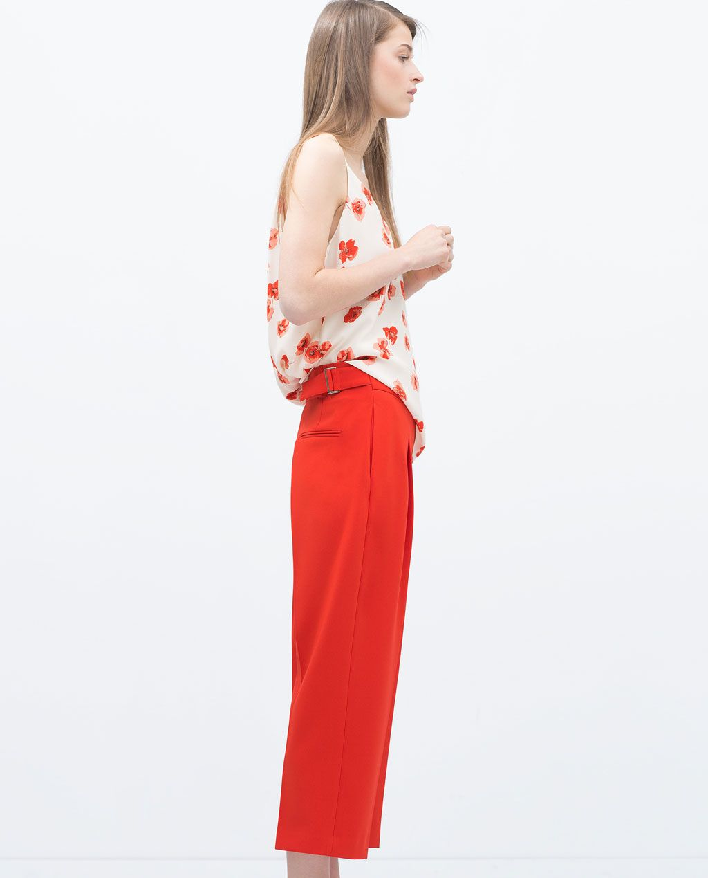 Image of loosefit trousers from zara treads u threads