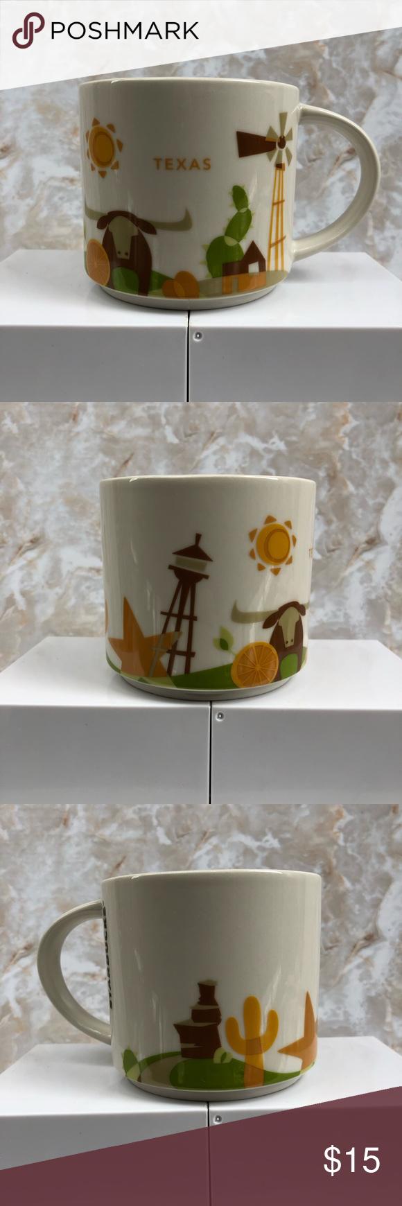 STARBUCKS TEXAS COFFEE CUP COLLECTION Starbucks Texas