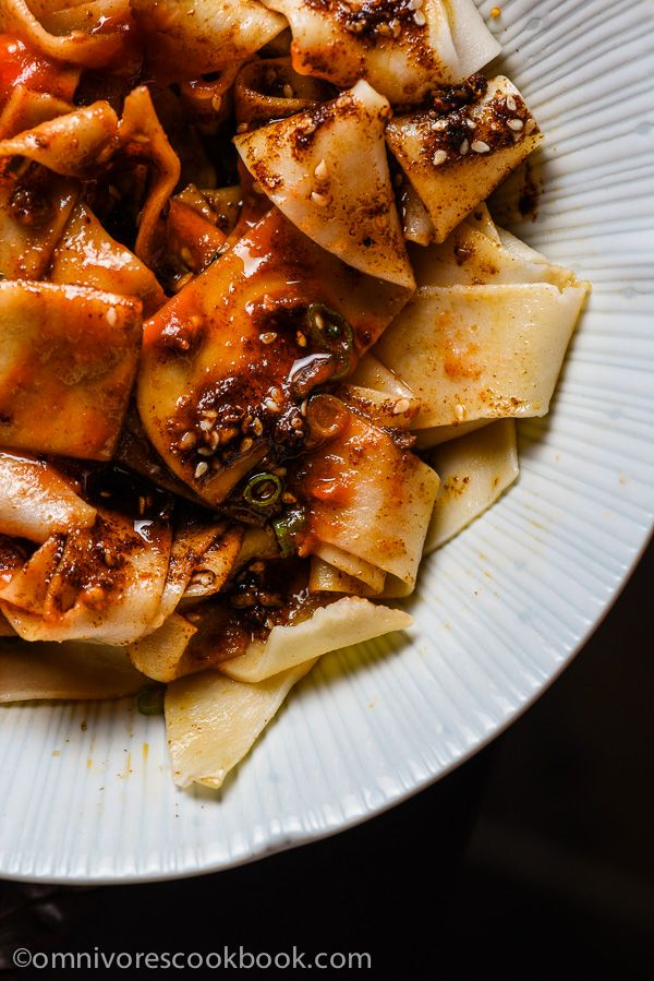 Biang Biang Noodles (Chinese Hot Sauce Noodles) | Omnivore's Cookbook