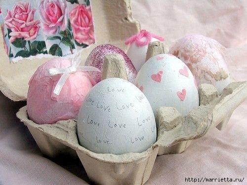 Пасхальные яйца. Идеи для вдохновения. Обсуждение на LiveInternet - Российский Сервис Онлайн-Дневников