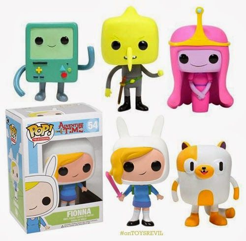 Toysrevil Adventure Time Pop Series Two From Funko Adventure Time Toy Collection Art Toy
