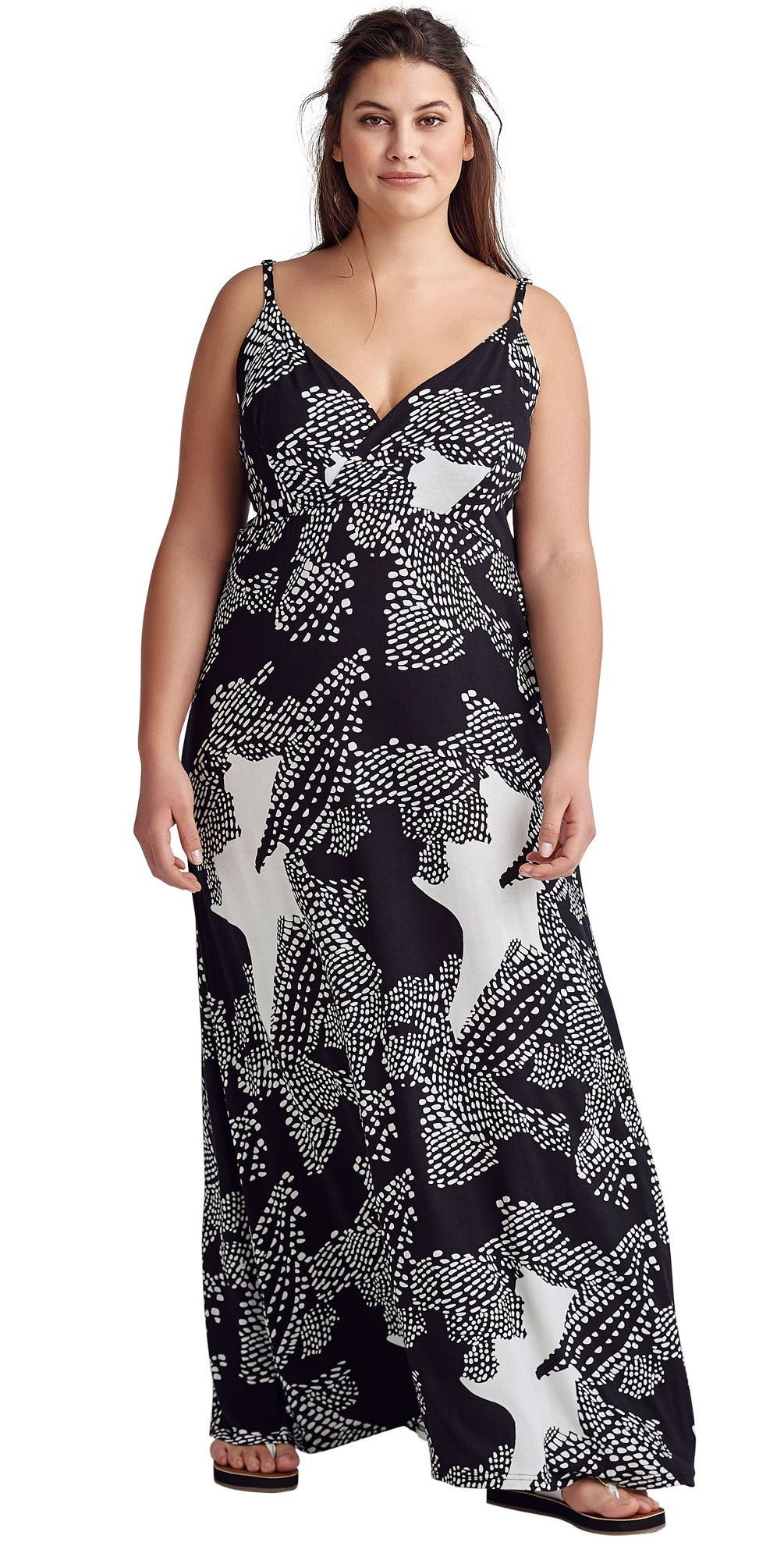 Plus Size Knit Surplice Maxi Dress Sponsored Walmartfashion Wedressamerica Plussize Plus Size Outfits Maxi Dress Plus Size Maxi Dresses [ 1981 x 1005 Pixel ]