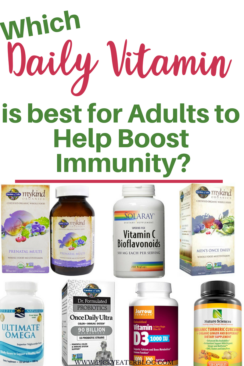 The Best Daily Vitamins For Adults To Help Boost Immunity Vitamins For Immune System Immune Boosting Daily Vitamins