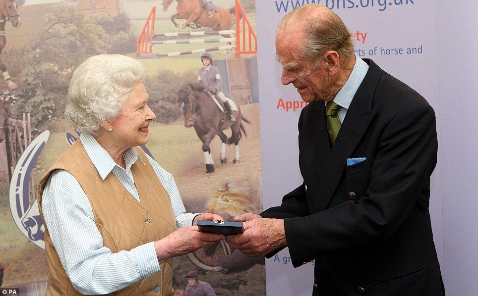 Happy anniversary! As the Queen and Prince Philip