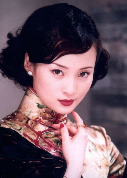 Chinese Hairstyle Adorable Chinese Actress Jiang Qinqin Also Known As Shui Ling  Hair Hair