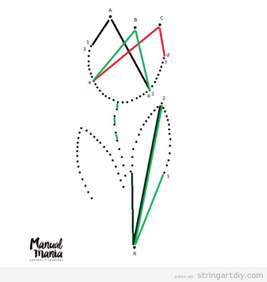 Easy String Art Templates