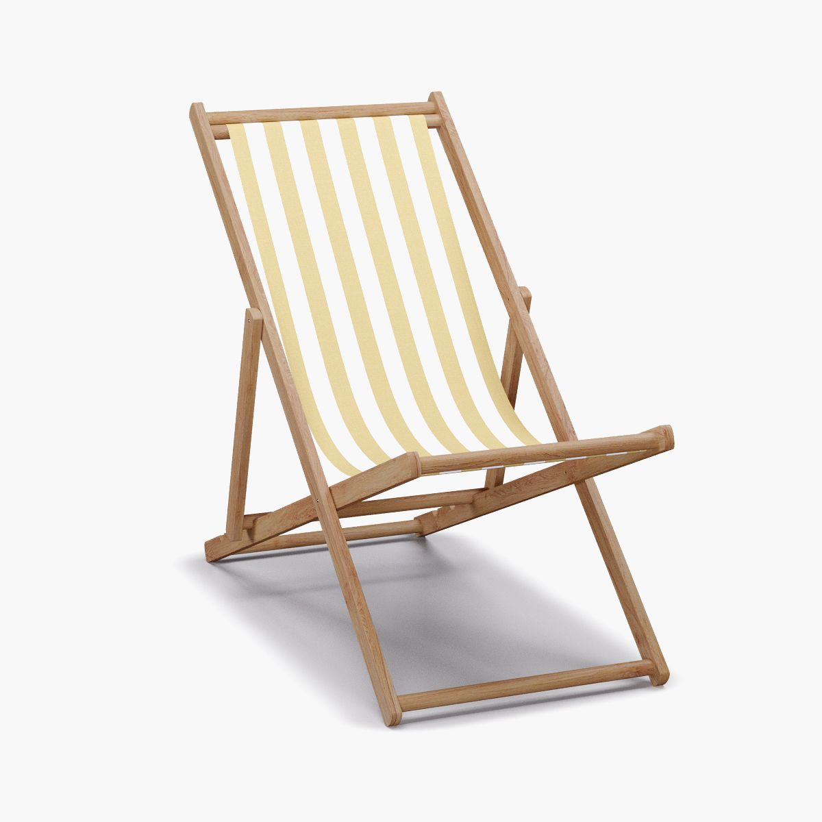 Citrine Cabana Stripe Upholstered Custom Cabana Chair In 2021 Outdoor Folding Chairs Beach Chairs Outdoor Chairs