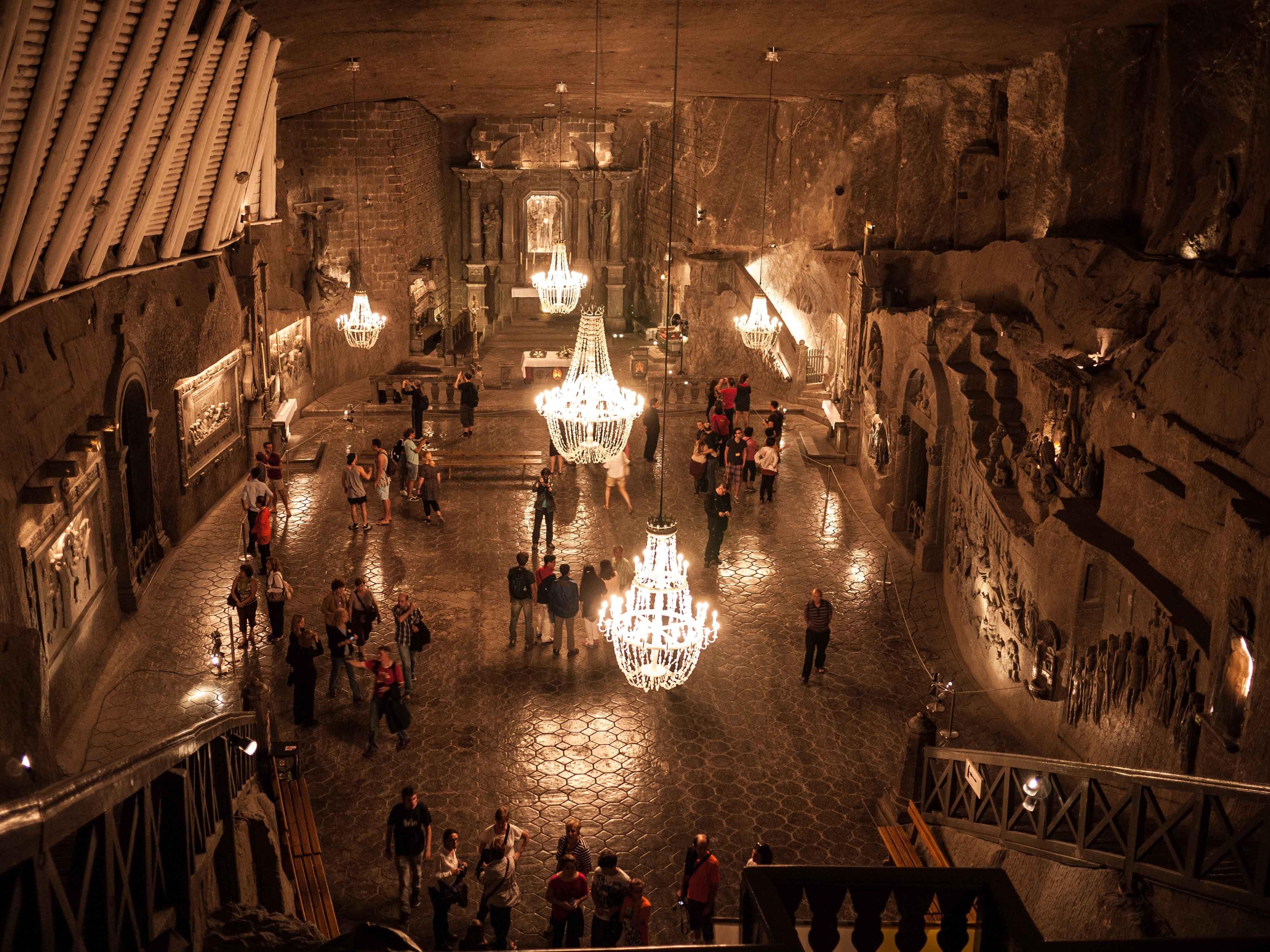 Wieliczka Salt Mines in Poland | travel | europe | Pinterest ...
