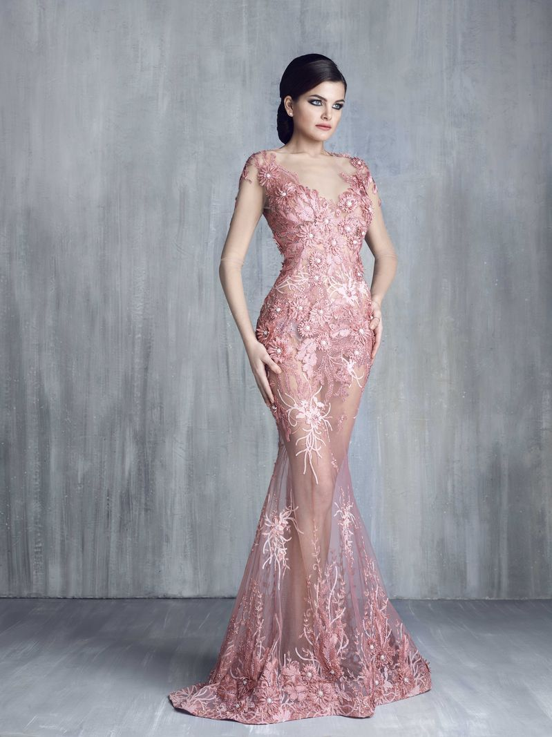 Tony chaaya haute couture 2016 collection gown couture for Haute couture dress price