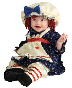 Ragamuffin Dolly Halloween Costume