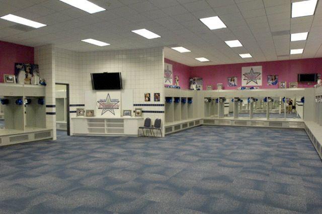 Dallas Cowboys Cheerleaders Locker Room