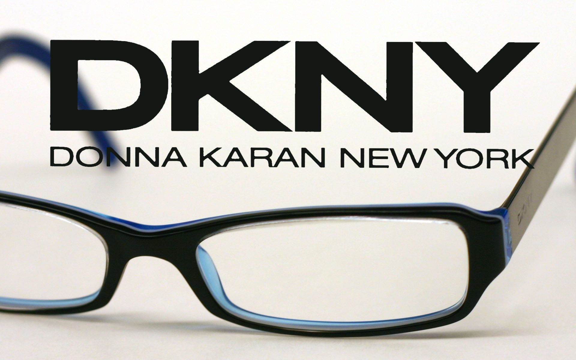 highly fashionable dkny glasses black outer frame and blue inside - Dkny Eyeglass Frames