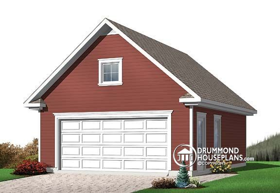 Plan Image Garage Plans With Loft Garage Plans Detached Garage Plan