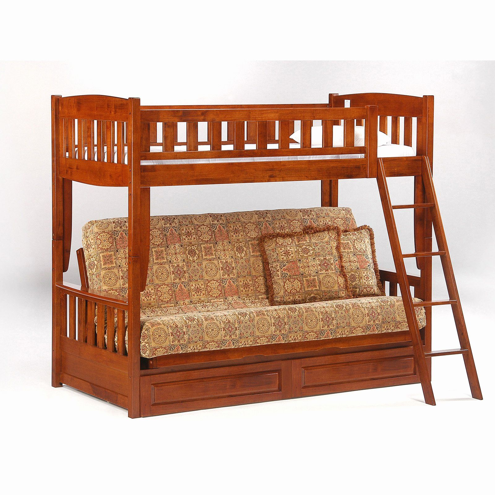208 Bunk Bed with Desk Underneath Frame Check more at http