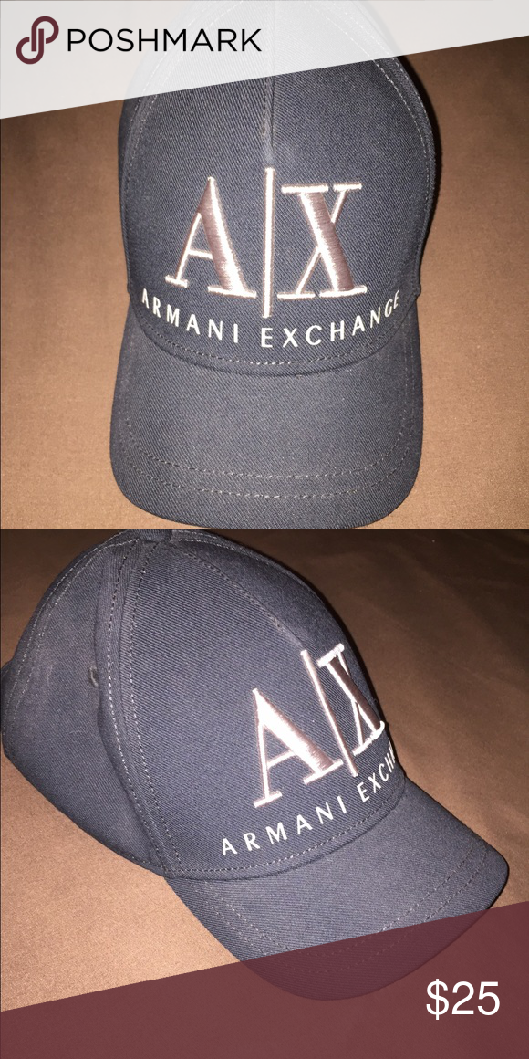 buy online 55249 9f2e0 Armani Exchange - Women s adjustable hat Armani Exhange, women s adjustable  hat in black with AX on the front - brand new never worn Armani Exchange ...