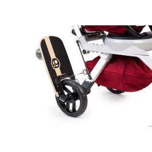 Fun skateboard riding position | Stroller board, Orbit ...