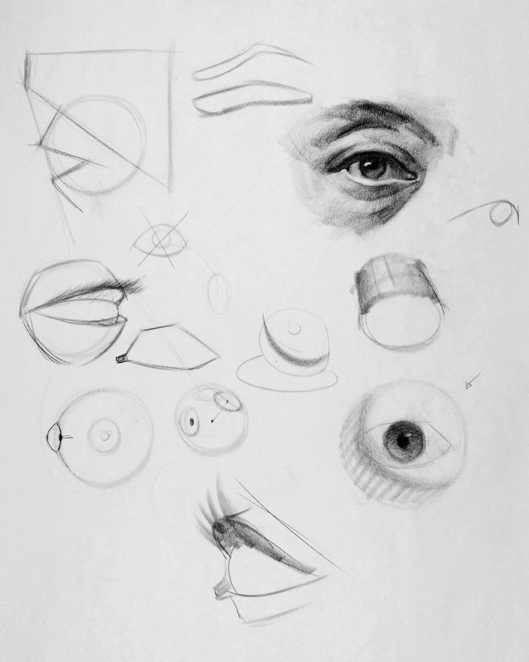 How To Draw Eyes Structure Eye Drawing Drawings Human Figure Drawing