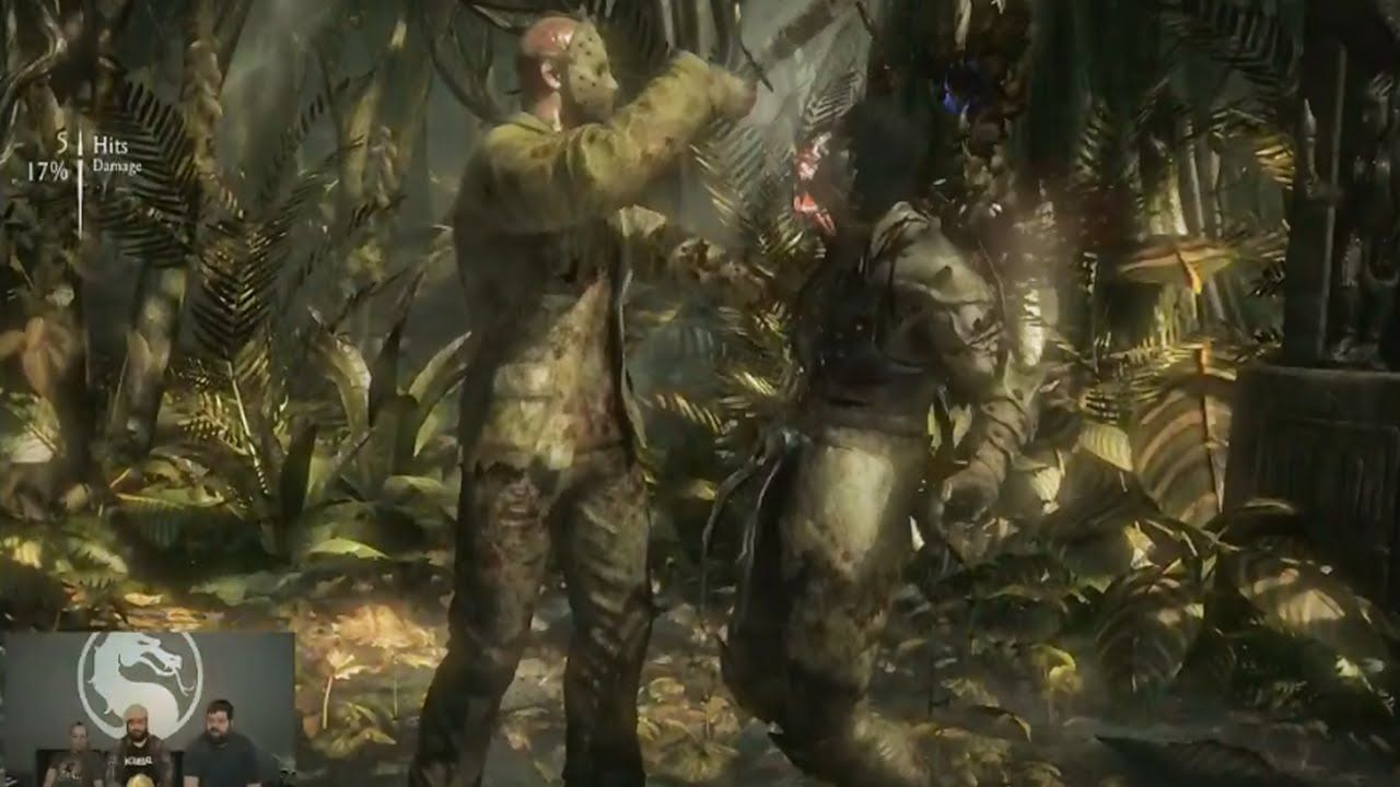 Mortal Kombat X Jason Gameplay