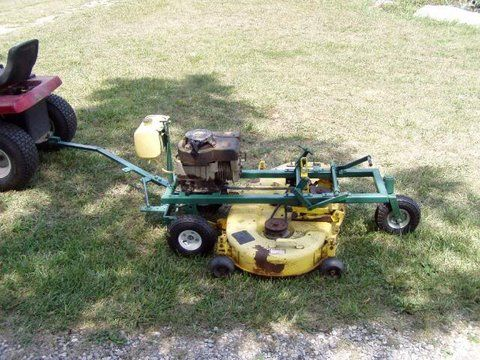 Duncan Neely uploaded this image to 'Homemade trailmower'  See the
