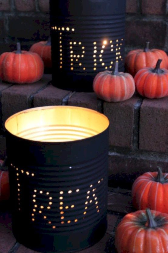52 Creative DIY Halloween Outdoor Decoration Ideas Halloween time