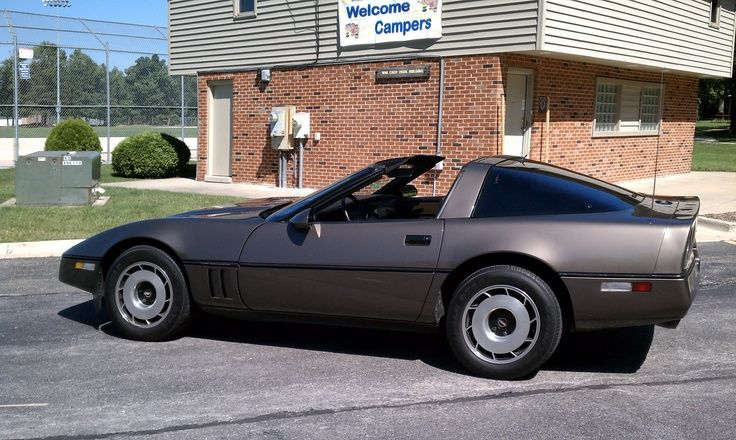 1985 Dark Bronze Metallic Corvette 1 030 Units