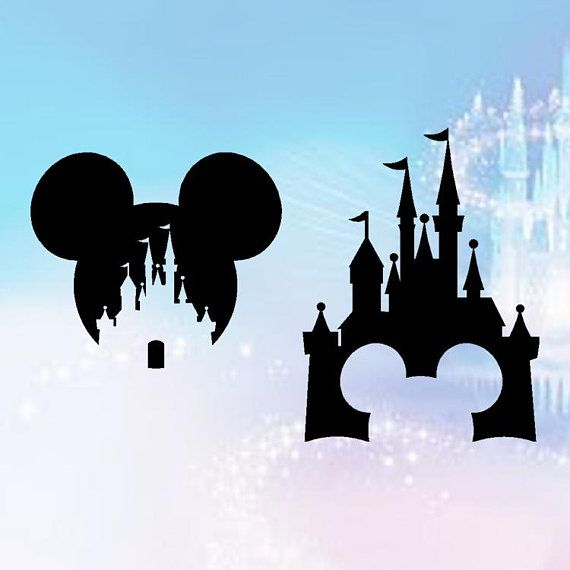 Download Mickey Mouse Disney Castles SVG Love Disney clipart ...