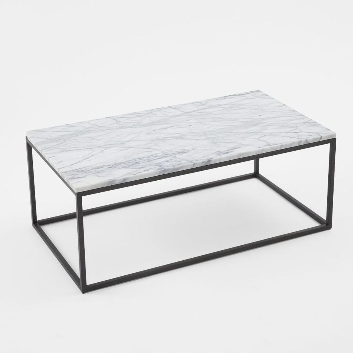 West elm marble box frame coffee table living spaces west elm marble box frame coffee table geotapseo Gallery