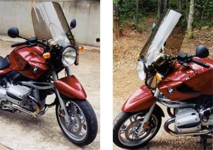 Parabellum Touring Windscreen for BMW R1150R | Motorcycle ...