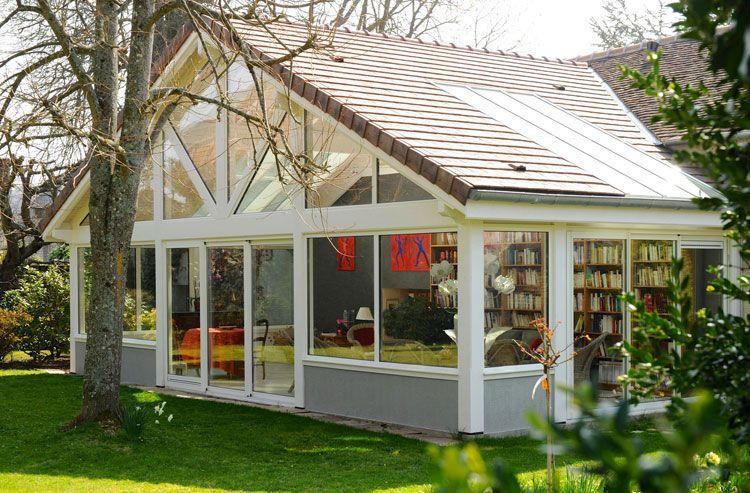 La véranda Paola est une très grande extension de maison  42 m² de