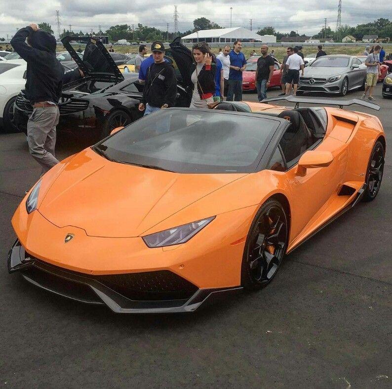 Spyder Sports Car: Lamborghini Huracan, Sports Car