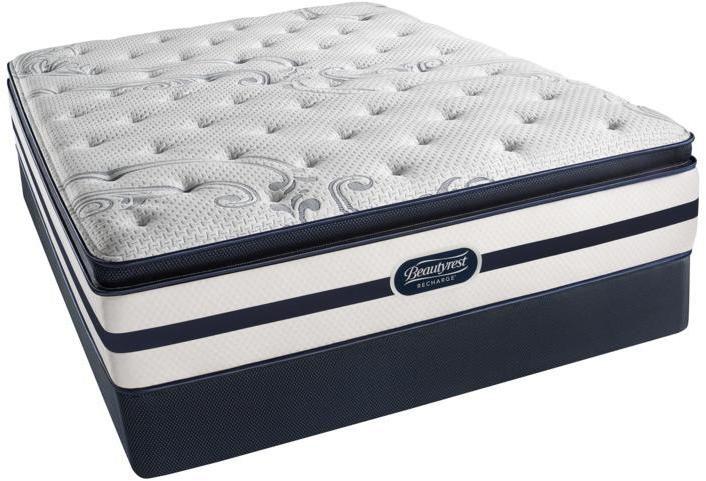 Simmons Beautyrest Recharge Emilia Plush Pillowtop Mattress Set