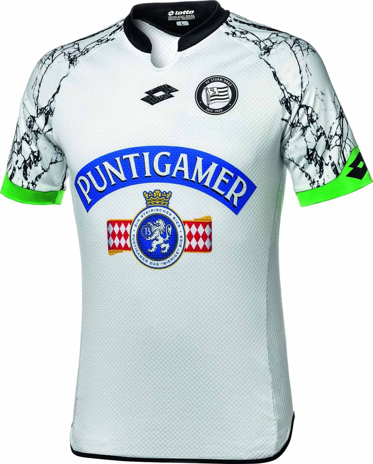 SK Sturm Graz (Austria) - 2015/2016 Lotto Away Shirt