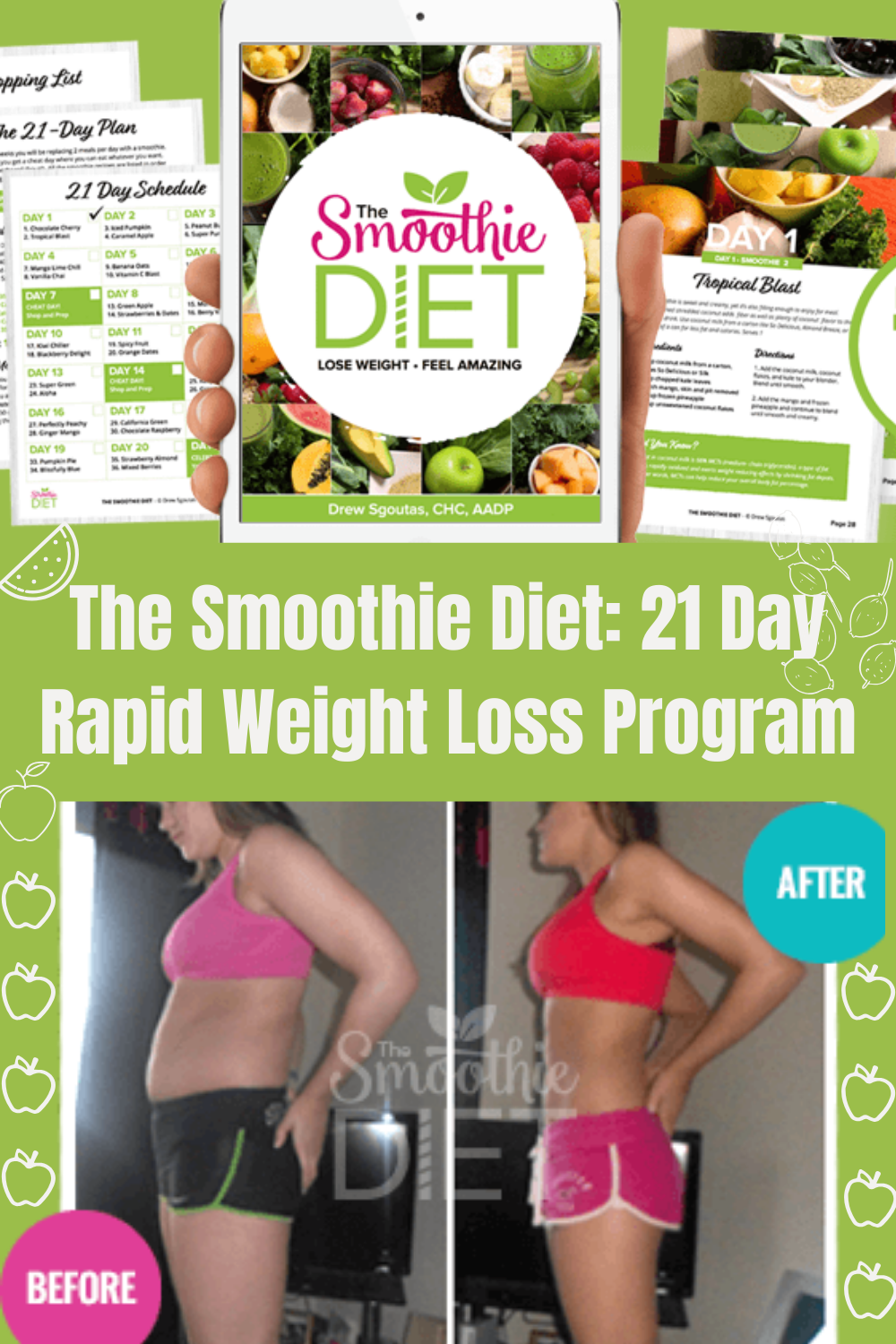 Delicious, Easy-To-Make Smoothies For #RapidWeightLoss , Increased Energy, & Incredible Health #SmoothieRecipes #SmoothieForWeightLossFatBurning #SmoothieDiet #WeightLossSmoothies #WeightLossDrinks #HowToMakeSmoothieBowls